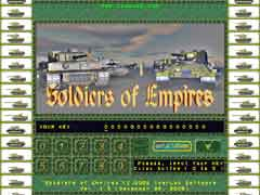"""Soldiers of Empires"" first screen"